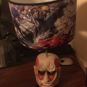 Attack on titan lamp